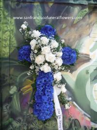 Heaven and life cross Funeral Flowers, Sympathy Flowers, Funeral Flower Arrangements from San Francisco Funeral Flowers.com Search for chinese funeral, sympathy funeral flower arrangements from our SanFranciscoFuneralFlowers.com website. Our funeral and sympathy arrangements include crosses, casket covers, hearts, wreaths on wood easels, coronas fúnebres, arreglos fúnebres, cruces para velorio, coronas para difunto, arreglos fúnebres, Florerias, Floreria, arreglos florales, corona funebre, coronas