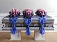 Three Casket Sprays with Fabric Drape CF038-11 Funeral Flowers, Sympathy Flowers, Funeral Flower Arrangements from San Francisco Funeral Flowers.com Search for chinese funeral, sympathy funeral flower arrangements from our SanFranciscoFuneralFlowers.com website. Our funeral and sympathy arrangements include crosses, casket covers, hearts, wreaths on wood easels, coronas fúnebres, arreglos fúnebres, cruces para velorio, coronas para difunto, arreglos fúnebres, Florerias, Floreria, arreglos florales, corona funebre, coronas
