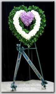 My Endless Love Heart Funeral Flowers, Sympathy Flowers, Funeral Flower Arrangements from San Francisco Funeral Flowers.com Search for chinese funeral, sympathy funeral flower arrangements from our SanFranciscoFuneralFlowers.com website. Our funeral and sympathy arrangements include crosses, casket covers, hearts, wreaths on wood easels, coronas fúnebres, arreglos fúnebres, cruces para velorio, coronas para difunto, arreglos fúnebres, Florerias, Floreria, arreglos florales, corona funebre, coronas