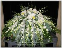 Rest Peacefully Casket Spray Funeral Flowers, Sympathy Flowers, Funeral Flower Arrangements from San Francisco Funeral Flowers.com Search for chinese funeral, sympathy funeral flower arrangements from our SanFranciscoFuneralFlowers.com website. Our funeral and sympathy arrangements include crosses, casket covers, hearts, wreaths on wood easels, coronas fúnebres, arreglos fúnebres, cruces para velorio, coronas para difunto, arreglos fúnebres, Florerias, Floreria, arreglos florales, corona funebre, coronas