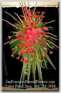 With Love & Respect Spray Funeral Flowers, Sympathy Flowers, Funeral Flower Arrangements from San Francisco Funeral Flowers.com Search for chinese funeral, sympathy funeral flower arrangements from our SanFranciscoFuneralFlowers.com website. Our funeral and sympathy arrangements include crosses, casket covers, hearts, wreaths on wood easels, coronas fúnebres, arreglos fúnebres, cruces para velorio, coronas para difunto, arreglos fúnebres, Florerias, Floreria, arreglos florales, corona funebre, coronas