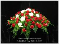 Loved & Respected Casket Spray Funeral Flowers, Sympathy Flowers, Funeral Flower Arrangements from San Francisco Funeral Flowers.com Search for chinese funeral, sympathy funeral flower arrangements from our SanFranciscoFuneralFlowers.com website. Our funeral and sympathy arrangements include crosses, casket covers, hearts, wreaths on wood easels, coronas fúnebres, arreglos fúnebres, cruces para velorio, coronas para difunto, arreglos fúnebres, Florerias, Floreria, arreglos florales, corona funebre, coronas