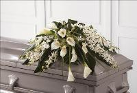 Angel Wings Casket Spray Funeral Flowers, Sympathy Flowers, Funeral Flower Arrangements from San Francisco Funeral Flowers.com Search for chinese funeral, sympathy funeral flower arrangements from our SanFranciscoFuneralFlowers.com website. Our funeral and sympathy arrangements include crosses, casket covers, hearts, wreaths on wood easels, coronas fúnebres, arreglos fúnebres, cruces para velorio, coronas para difunto, arreglos fúnebres, Florerias, Floreria, arreglos florales, corona funebre, coronas