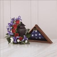 Patriotic Tribute Arrangement Funeral Flowers, Sympathy Flowers, Funeral Flower Arrangements from San Francisco Funeral Flowers.com Search for chinese funeral, sympathy funeral flower arrangements from our SanFranciscoFuneralFlowers.com website. Our funeral and sympathy arrangements include crosses, casket covers, hearts, wreaths on wood easels, coronas fúnebres, arreglos fúnebres, cruces para velorio, coronas para difunto, arreglos fúnebres, Florerias, Floreria, arreglos florales, corona funebre, coronas