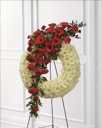 Graceful Tribute Wreath Funeral Flowers, Sympathy Flowers, Funeral Flower Arrangements from San Francisco Funeral Flowers.com Search for chinese funeral, sympathy funeral flower arrangements from our SanFranciscoFuneralFlowers.com website. Our funeral and sympathy arrangements include crosses, casket covers, hearts, wreaths on wood easels, coronas fúnebres, arreglos fúnebres, cruces para velorio, coronas para difunto, arreglos fúnebres, Florerias, Floreria, arreglos florales, corona funebre, coronas