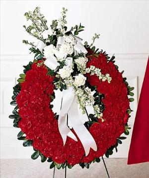 Patriotic Tribute Wreath Funeral Flowers, Sympathy Flowers, Funeral Flower Arrangements from San Francisco Funeral Flowers.com Search for chinese funeral, sympathy funeral flower arrangements from our SanFranciscoFuneralFlowers.com website. Our funeral and sympathy arrangements include crosses, casket covers, hearts, wreaths on wood easels, coronas fúnebres, arreglos fúnebres, cruces para velorio, coronas para difunto, arreglos fúnebres, Florerias, Floreria, arreglos florales, corona funebre, coronas