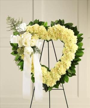 Our Hearts Speak to You™ Standing Heart Funeral Flowers, Sympathy Flowers, Funeral Flower Arrangements from San Francisco Funeral Flowers.com Search for chinese funeral, sympathy funeral flower arrangements from our SanFranciscoFuneralFlowers.com website. Our funeral and sympathy arrangements include crosses, casket covers, hearts, wreaths on wood easels, coronas fúnebres, arreglos fúnebres, cruces para velorio, coronas para difunto, arreglos fúnebres, Florerias, Floreria, arreglos florales, corona funebre, coronas