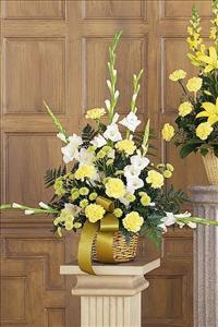 White, Yellow & Green Basket Funeral Flowers, Sympathy Flowers, Funeral Flower Arrangements from San Francisco Funeral Flowers.com Search for chinese funeral, sympathy funeral flower arrangements from our SanFranciscoFuneralFlowers.com website. Our funeral and sympathy arrangements include crosses, casket covers, hearts, wreaths on wood easels, coronas fúnebres, arreglos fúnebres, cruces para velorio, coronas para difunto, arreglos fúnebres, Florerias, Floreria, arreglos florales, corona funebre, coronas