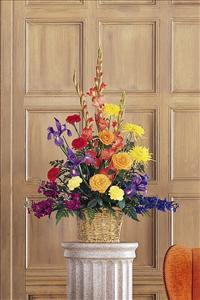 Multi-Color Arrangement Funeral Flowers, Sympathy Flowers, Funeral Flower Arrangements from San Francisco Funeral Flowers.com Search for chinese funeral, sympathy funeral flower arrangements from our SanFranciscoFuneralFlowers.com website. Our funeral and sympathy arrangements include crosses, casket covers, hearts, wreaths on wood easels, coronas fúnebres, arreglos fúnebres, cruces para velorio, coronas para difunto, arreglos fúnebres, Florerias, Floreria, arreglos florales, corona funebre, coronas