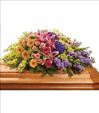 Garden of Sweet Memories Casket Spray Funeral Flowers, Sympathy Flowers, Funeral Flower Arrangements from San Francisco Funeral Flowers.com Search for chinese funeral, sympathy funeral flower arrangements from our SanFranciscoFuneralFlowers.com website. Our funeral and sympathy arrangements include crosses, casket covers, hearts, wreaths on wood easels, coronas fúnebres, arreglos fúnebres, cruces para velorio, coronas para difunto, arreglos fúnebres, Florerias, Floreria, arreglos florales, corona funebre, coronas