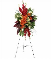 A New Sunrise Spray Funeral Flowers, Sympathy Flowers, Funeral Flower Arrangements from San Francisco Funeral Flowers.com Search for chinese funeral, sympathy funeral flower arrangements from our SanFranciscoFuneralFlowers.com website. Our funeral and sympathy arrangements include crosses, casket covers, hearts, wreaths on wood easels, coronas fúnebres, arreglos fúnebres, cruces para velorio, coronas para difunto, arreglos fúnebres, Florerias, Floreria, arreglos florales, corona funebre, coronas