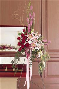 Standing Easel Spray Funeral Flowers, Sympathy Flowers, Funeral Flower Arrangements from San Francisco Funeral Flowers.com Search for chinese funeral, sympathy funeral flower arrangements from our SanFranciscoFuneralFlowers.com website. Our funeral and sympathy arrangements include crosses, casket covers, hearts, wreaths on wood easels, coronas fúnebres, arreglos fúnebres, cruces para velorio, coronas para difunto, arreglos fúnebres, Florerias, Floreria, arreglos florales, corona funebre, coronas