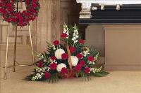 Fireside Basket Funeral Flowers, Sympathy Flowers, Funeral Flower Arrangements from San Francisco Funeral Flowers.com Search for chinese funeral, sympathy funeral flower arrangements from our SanFranciscoFuneralFlowers.com website. Our funeral and sympathy arrangements include crosses, casket covers, hearts, wreaths on wood easels, coronas fúnebres, arreglos fúnebres, cruces para velorio, coronas para difunto, arreglos fúnebres, Florerias, Floreria, arreglos florales, corona funebre, coronas