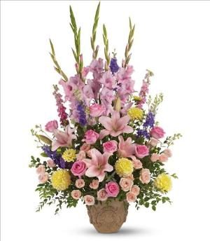 Ever Upward Bouquet by Teleflora Funeral Flowers, Sympathy Flowers, Funeral Flower Arrangements from San Francisco Funeral Flowers.com Search for chinese funeral, sympathy funeral flower arrangements from our SanFranciscoFuneralFlowers.com website. Our funeral and sympathy arrangements include crosses, casket covers, hearts, wreaths on wood easels, coronas fúnebres, arreglos fúnebres, cruces para velorio, coronas para difunto, arreglos fúnebres, Florerias, Floreria, arreglos florales, corona funebre, coronas