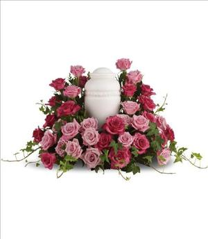 Bed of Pink Roses Funeral Flowers, Sympathy Flowers, Funeral Flower Arrangements from San Francisco Funeral Flowers.com Search for chinese funeral, sympathy funeral flower arrangements from our SanFranciscoFuneralFlowers.com website. Our funeral and sympathy arrangements include crosses, casket covers, hearts, wreaths on wood easels, coronas fúnebres, arreglos fúnebres, cruces para velorio, coronas para difunto, arreglos fúnebres, Florerias, Floreria, arreglos florales, corona funebre, coronas