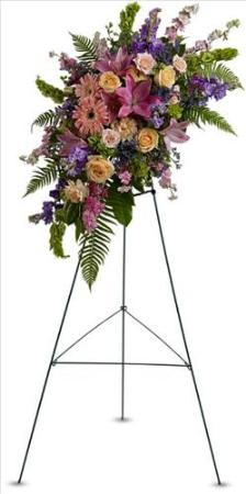 Heavenly Grace Spray Funeral Flowers, Sympathy Flowers, Funeral Flower Arrangements from San Francisco Funeral Flowers.com Search for chinese funeral, sympathy funeral flower arrangements from our SanFranciscoFuneralFlowers.com website. Our funeral and sympathy arrangements include crosses, casket covers, hearts, wreaths on wood easels, coronas fúnebres, arreglos fúnebres, cruces para velorio, coronas para difunto, arreglos fúnebres, Florerias, Floreria, arreglos florales, corona funebre, coronas