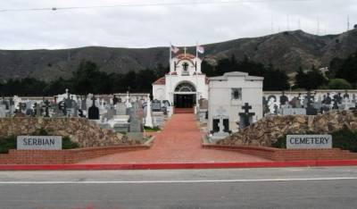 Serbian Cemetery Colma CA - San Francisco Funeral Flowers.com