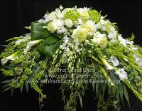 in our prayers casket spray Funeral Flowers, Sympathy Flowers, Funeral Flower Arrangements from San Francisco Funeral Flowers.com Search for chinese funeral, sympathy funeral flower arrangements from our SanFranciscoFuneralFlowers.com website. Our funeral and sympathy arrangements include crosses, casket covers, hearts, wreaths on wood easels, coronas fúnebres, arreglos fúnebres, cruces para velorio, coronas para difunto, arreglos fúnebres, Florerias, Floreria, arreglos florales, corona funebre, coronas