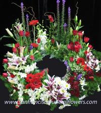 Loving Memory Urn Wreath Funeral Flowers, Sympathy Flowers, Funeral Flower Arrangements from San Francisco Funeral Flowers.com Search for chinese funeral, sympathy funeral flower arrangements from our SanFranciscoFuneralFlowers.com website. Our funeral and sympathy arrangements include crosses, casket covers, hearts, wreaths on wood easels, coronas fúnebres, arreglos fúnebres, cruces para velorio, coronas para difunto, arreglos fúnebres, Florerias, Floreria, arreglos florales, corona funebre, coronas