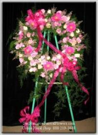 Endlless Elegance Wreath Funeral Flowers, Sympathy Flowers, Funeral Flower Arrangements from San Francisco Funeral Flowers.com Search for chinese funeral, sympathy funeral flower arrangements from our SanFranciscoFuneralFlowers.com website. Our funeral and sympathy arrangements include crosses, casket covers, hearts, wreaths on wood easels, coronas fúnebres, arreglos fúnebres, cruces para velorio, coronas para difunto, arreglos fúnebres, Florerias, Floreria, arreglos florales, corona funebre, coronas