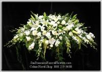 Eternal Love Casket Spray Funeral Flowers, Sympathy Flowers, Funeral Flower Arrangements from San Francisco Funeral Flowers.com Search for chinese funeral, sympathy funeral flower arrangements from our SanFranciscoFuneralFlowers.com website. Our funeral and sympathy arrangements include crosses, casket covers, hearts, wreaths on wood easels, coronas fúnebres, arreglos fúnebres, cruces para velorio, coronas para difunto, arreglos fúnebres, Florerias, Floreria, arreglos florales, corona funebre, coronas