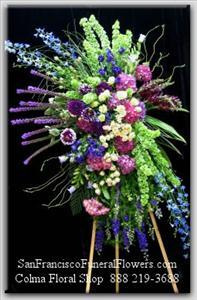 Remembered Fondly Spray Funeral Flowers, Sympathy Flowers, Funeral Flower Arrangements from San Francisco Funeral Flowers.com Search for chinese funeral, sympathy funeral flower arrangements from our SanFranciscoFuneralFlowers.com website. Our funeral and sympathy arrangements include crosses, casket covers, hearts, wreaths on wood easels, coronas fúnebres, arreglos fúnebres, cruces para velorio, coronas para difunto, arreglos fúnebres, Florerias, Floreria, arreglos florales, corona funebre, coronas