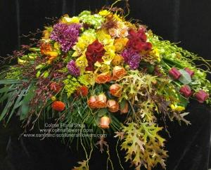 Autumn Love Casket spray Funeral Flowers, Sympathy Flowers, Funeral Flower Arrangements from San Francisco Funeral Flowers.com Search for chinese funeral, sympathy funeral flower arrangements from our SanFranciscoFuneralFlowers.com website. Our funeral and sympathy arrangements include crosses, casket covers, hearts, wreaths on wood easels, coronas fúnebres, arreglos fúnebres, cruces para velorio, coronas para difunto, arreglos fúnebres, Florerias, Floreria, arreglos florales, corona funebre, coronas