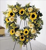 Forever Heart Funeral Flowers, Sympathy Flowers, Funeral Flower Arrangements from San Francisco Funeral Flowers.com Search for sympathy and funeral flower arrangement ideas from our SanFranciscoFuneralFlowers.com website. Our funeral and sympathy arrangements include crosses, casket covers, hearts, wreaths on wood easels. Open 365 days and provide delivery everyday including Sunday delivery to funeral homes from San Francisco CA to San Mateo CA. San Francisco Flowers