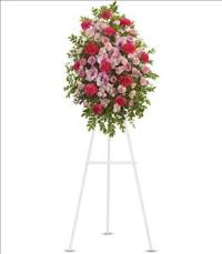 Pink Tribute Spray Funeral Flowers, Sympathy Flowers, Funeral Flower Arrangements from San Francisco Funeral Flowers.com Search for chinese funeral, sympathy funeral flower arrangements from our SanFranciscoFuneralFlowers.com website. Our funeral and sympathy arrangements include crosses, casket covers, hearts, wreaths on wood easels, coronas fúnebres, arreglos fúnebres, cruces para velorio, coronas para difunto, arreglos fúnebres, Florerias, Floreria, arreglos florales, corona funebre, coronas