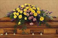 Eternal Hope Casket Spray Funeral Flowers, Sympathy Flowers, Funeral Flower Arrangements from San Francisco Funeral Flowers.com Search for chinese funeral, sympathy funeral flower arrangements from our SanFranciscoFuneralFlowers.com website. Our funeral and sympathy arrangements include crosses, casket covers, hearts, wreaths on wood easels, coronas fúnebres, arreglos fúnebres, cruces para velorio, coronas para difunto, arreglos fúnebres, Florerias, Floreria, arreglos florales, corona funebre, coronas