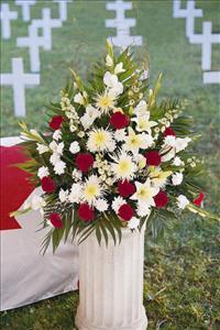 Canadian Setting Arrangement Funeral Flowers, Sympathy Flowers, Funeral Flower Arrangements from San Francisco Funeral Flowers.com Search for chinese funeral, sympathy funeral flower arrangements from our SanFranciscoFuneralFlowers.com website. Our funeral and sympathy arrangements include crosses, casket covers, hearts, wreaths on wood easels, coronas fúnebres, arreglos fúnebres, cruces para velorio, coronas para difunto, arreglos fúnebres, Florerias, Floreria, arreglos florales, corona funebre, coronas
