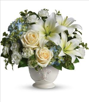 Beautiful Dreams by Teleflora Funeral Flowers, Sympathy Flowers, Funeral Flower Arrangements from San Francisco Funeral Flowers.com Search for chinese funeral, sympathy funeral flower arrangements from our SanFranciscoFuneralFlowers.com website. Our funeral and sympathy arrangements include crosses, casket covers, hearts, wreaths on wood easels, coronas fúnebres, arreglos fúnebres, cruces para velorio, coronas para difunto, arreglos fúnebres, Florerias, Floreria, arreglos florales, corona funebre, coronas