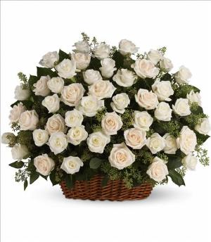 Bountiful Rose Basket Funeral Flowers, Sympathy Flowers, Funeral Flower Arrangements from San Francisco Funeral Flowers.com Search for chinese funeral, sympathy funeral flower arrangements from our SanFranciscoFuneralFlowers.com website. Our funeral and sympathy arrangements include crosses, casket covers, hearts, wreaths on wood easels, coronas fúnebres, arreglos fúnebres, cruces para velorio, coronas para difunto, arreglos fúnebres, Florerias, Floreria, arreglos florales, corona funebre, coronas