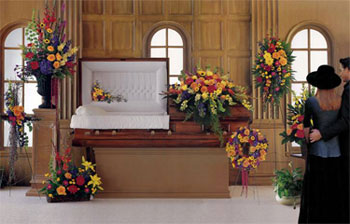 Final Tribute for Visitation or Funeral Service
